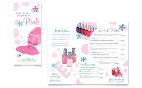 7 best images of spa brochure templates day spa brochure