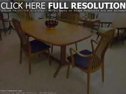teak dining room sets mid century danish teak dining room table w