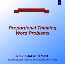 proportion word problems 3rd grade individualized math worksheets