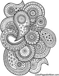 creative haven fanciful faces coloring book dover