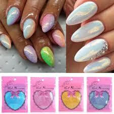 aliexpress com buy 2016 trendy diy mermaid effect glitter nail