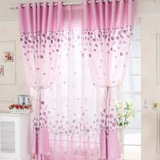 Fitting Room Curtains Pink Polka Dot Curtains