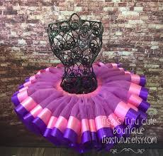ribbon tutu pink and purple ribbon trimmed tutu pink and purple tutu doc