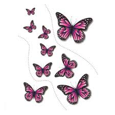 butterfly tattoos for 2 in one package buytra com
