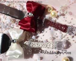 wedding cake accessories burgundy wedding etsy