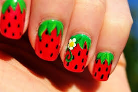 creative easy nail fashion trend at home for beginners without