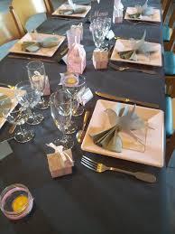 deco table rose et gris déco baptême rose gris moulins et oiseaux le blog de