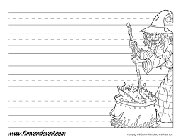 writing paper template tim van de vall comics printables for kids halloween writing paper template halloween paper
