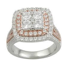 bjs wedding rings 2 00 ct t w diamond ring in 14k white gold bj s wholesale club