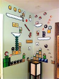 Super Mario Home Decor Best 25 Super Mario Room Ideas Only On Pinterest Mario Room