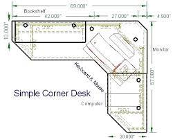 Best 25 Desk Plans Ideas On Pinterest Woodworking Desk Plans by Desk Dark Wood Corner Office Desk Wood Corner Home Office Desk