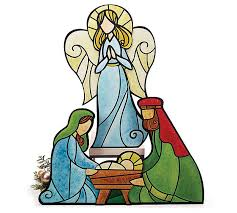 Holy Family Outdoor Christmas Decoration Nativity Scene By Collections Etc by 97 Best Stained Glass Nativities Images On Pinterest Christmas