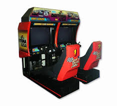 japanese arcade cabinet for sale daytona usa arcade machine for sale at arcade classics