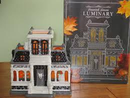 vintage halloween decorations ebay bath u0026 body works halloween 2014 haunted house luminary large