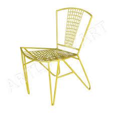 mid century vintage metal replica wire chair garden furniture