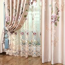 Embroidered Sheer Curtains Charming Embroidered Sheer Curtains And Curtains Embroidered