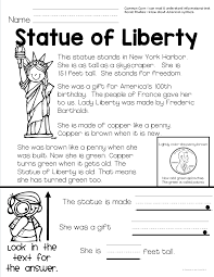 Flag Day Reading Comprehension Worksheets American Symbols Teacher To The Core