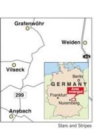 Vilseck Germany Map by