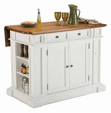 white kitchen island with stainless steel top buy cambridge stainless steel top kitchen island in white