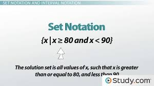 set notation compound inequalities and systems of inequalities
