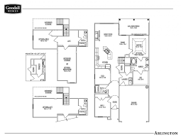 the arlington floor plans goodall homes
