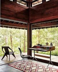 cachee bureau coin bureau maison eames annee 50 modernisme une maison splendide