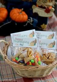 treat bag thanksgiving tags happy thanksgiving