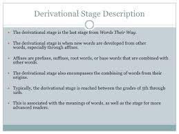 the stages of spelling