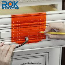 kitchen cabinet pull templates kitchen