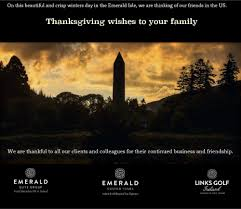 thanksgiving wishes to colleagues links golf ireland links golf twitter