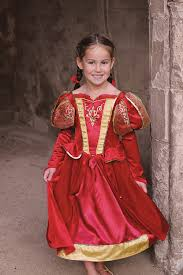 girls medieval queen or oriental princess costume new world book