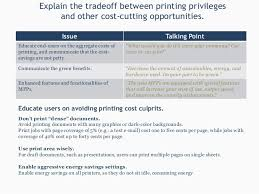 reduce costs through printer consolidation