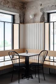 Memphis Modern Simple Dining Room Memphis Inspired Moscow Restaurant By Crosby Studios Studio