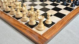 of american adios series luxury chess set with wooden board in