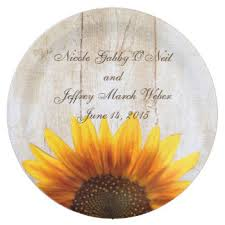 plates for wedding rustic plates zazzle