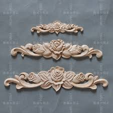carved wood cabinet doors dongyang wood carving wood applique furniture home diy fashion small