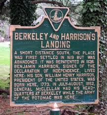 berkeley plantation on this spot