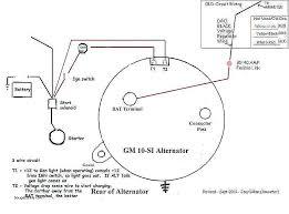alternator regulator wiring diagram contemporary