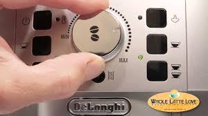 delonghi magnifica red light delonghi magnifica xs super automatic espresso machine review youtube