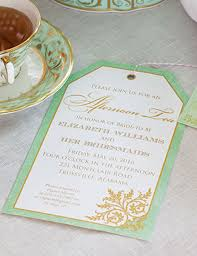 bridesmaids invitations bridesmaids tea invitation teatime magazine