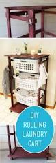 diy rolling laundry cart laundry cart closet and master closet