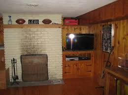 Remove Brick Fireplace by Help Painted Fireplace How Do We Remove The Paint Diy