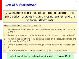 review of the accounting process ppt download
