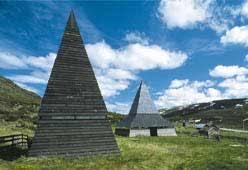 St Thomaskirken på Filefjell er det naturlige målet