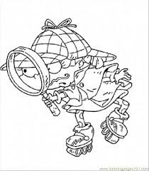 Sherlock Tommy Coloring Free Rugrats Coloring Pages