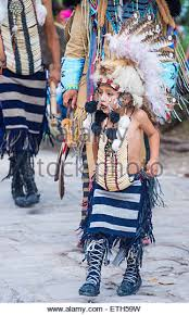 native american traditional costume participates stock photos
