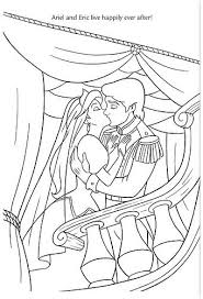 disney ariel eric coloring pages coloring disney ariel