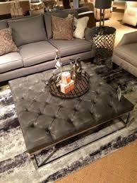 Tufted Coffee Table Leather Tufted Ottoman Coffee Table Foter