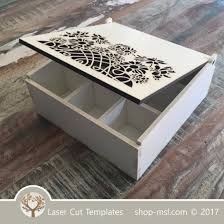product template laser cut sorting wooden box online store free