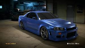nissan gtr skyline 2015 need for speed 2015 car customization 9 nissan skyline gtr